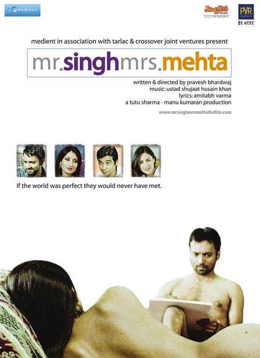 Mr. Singh Mrs. Mehta Hot Poster