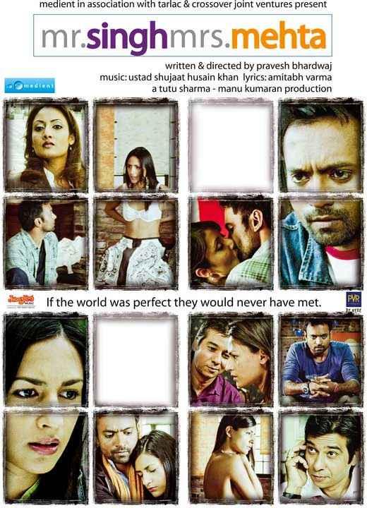 Mr. Singh Mrs. Mehta Wallpaper Poster