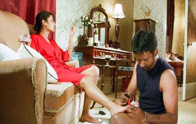 Mr. Singh Mrs. Mehta Aruna Shields Hot Red Dress Stills