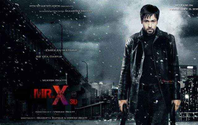Mr. X 2015 Emraan Hashmi Poster