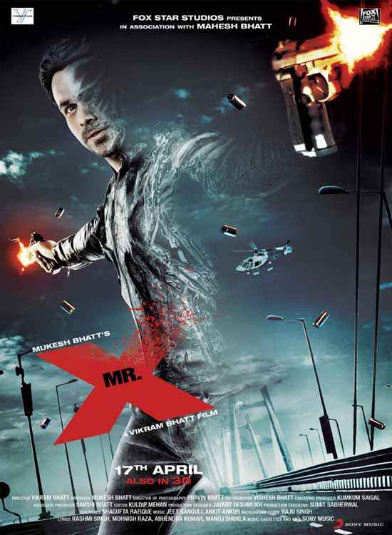 Mr. X 2015 Image Poster