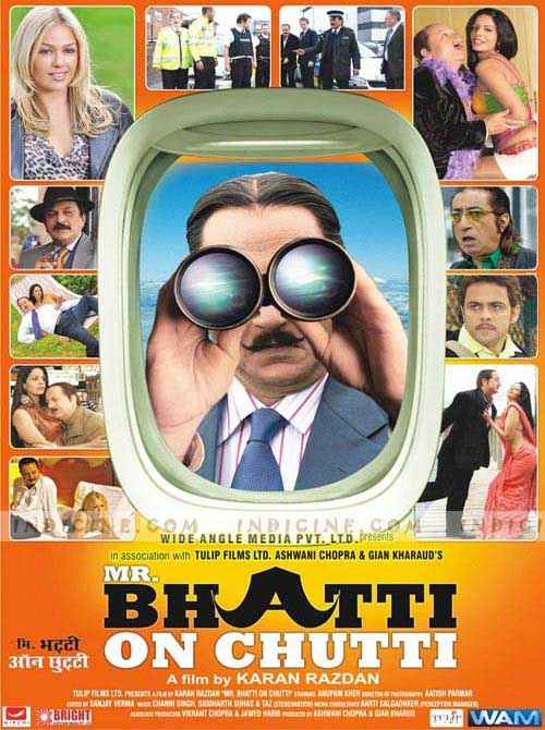 Mr. Bhatti on Chutti Poster