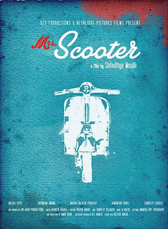 Mrs Scooter  Poster