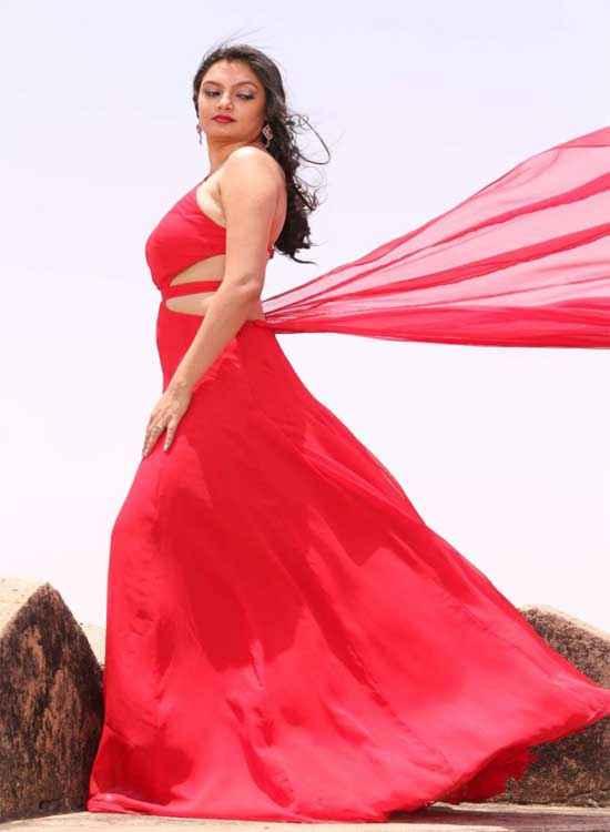 Mumbai Can Dance Saala Kritika Chaudhary Red Dress Stills