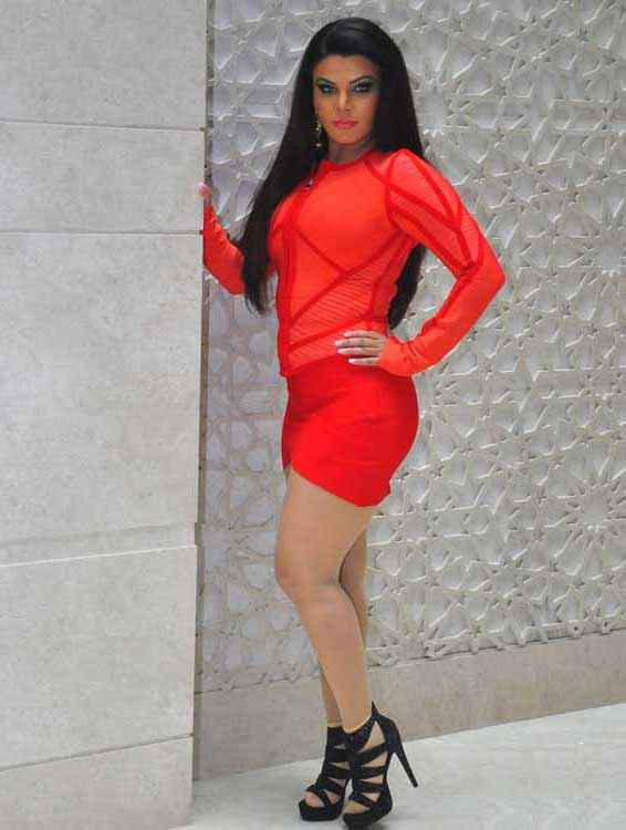 Mumbai Can Dance Saala Rakhi Sawant In Red Mini Skirt Stills