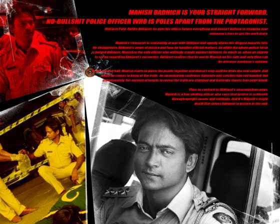 Mumbai Mirror Manish Dadhich Acting Poster