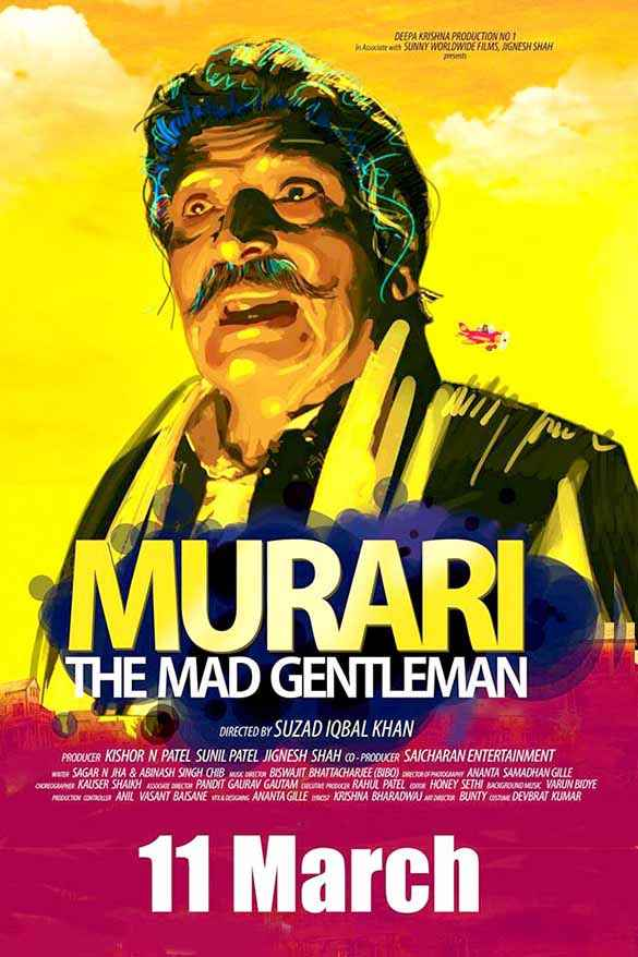 Murari The Mad Gentleman Asrani Poster