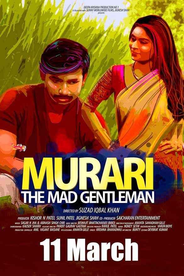 Murari The Mad Gentleman Yajuvendra Pratap Singh Kiran Sharad Poster