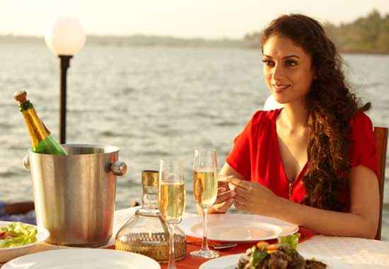 Murder 3 Aditi Rao Hydari in Red Dress Stills