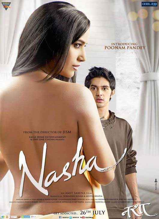 Nasha Poonam Pandey Hot Wallpaper Poster