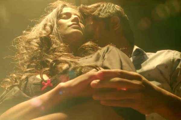 Nasha Poonam Pandey Aditya Bhatia Romantic Scene Stills