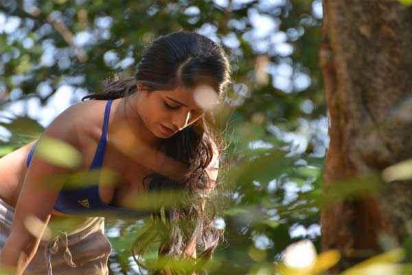Nasha Poonam Pandey in Blue Bikini Stills