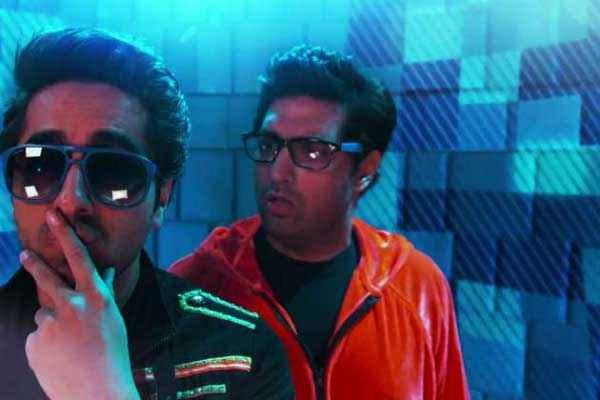 Nautanki Saala Ayushman Khurana in Black Goggles Stills