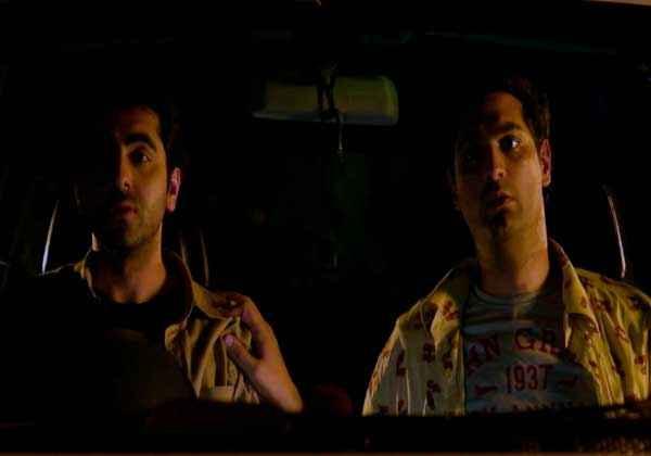 Nautanki Saala Ayushman Kunaal Roy Kapur in Car Stills