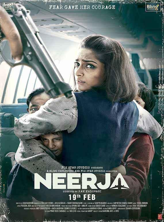 Neerja Image Poster