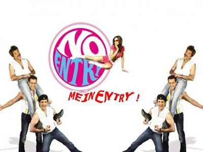 No Entry Mein Entry  Poster