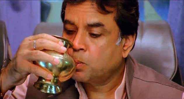 OMG Oh My God Paresh Rawal Drinking Stills