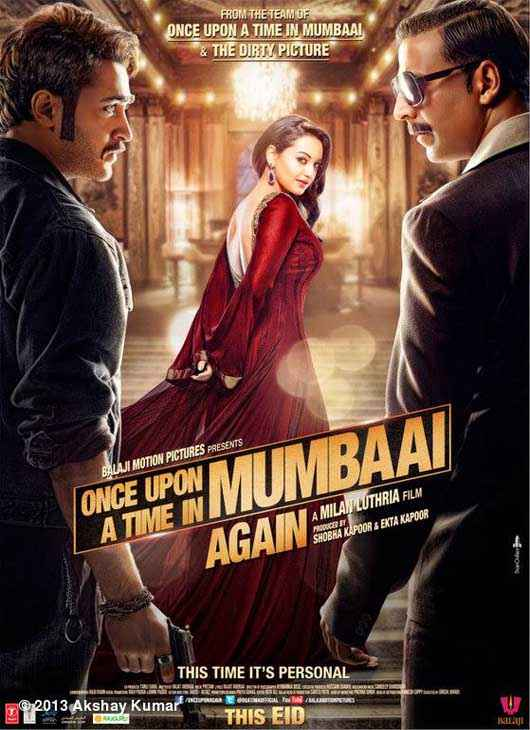 Once Upon A Time In Mumbaai 2 First Look Poster