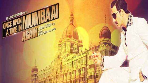 Once Upon A Time In Mumbaai Again Akshay Kumar Poster