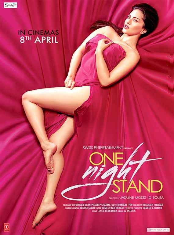 One Night Stand Sunny Leone Sexy Legs Poster
