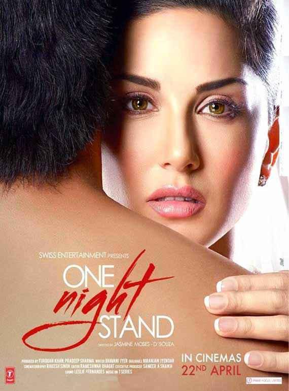 One Night Stand Sunny Leone Tanuj Virwani Poster