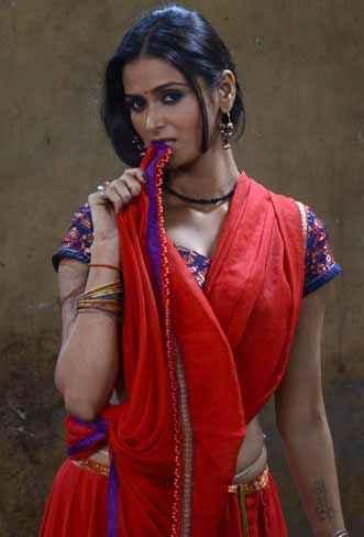 P Se PM Tak Meenakshi Dixit In Red Dress Stills