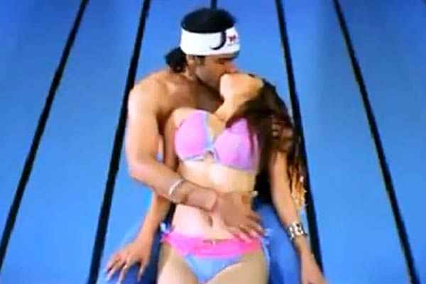 Paapi 2013 Aarya Babbar Pooja Bharathi Lip Kiss Stills