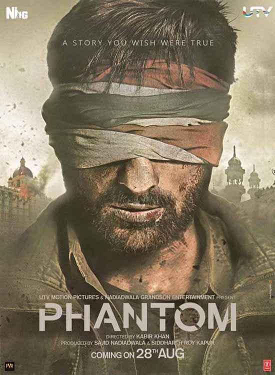 Phantom Saif Ali Khan Poster