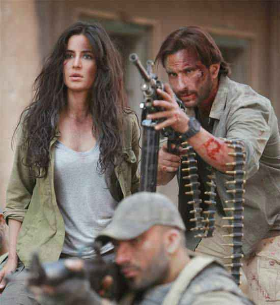 Phantom Saif Ali Khan Katrina Kaif Action Scene Stills