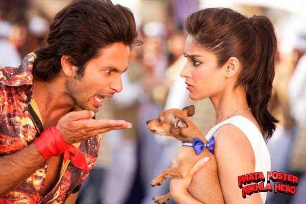 Phata Poster Nikla Hero Shahid Kapoor Ileana DCruz With Puppy Stills