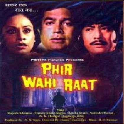 Phir Wohi Raat Wallpaper Poster