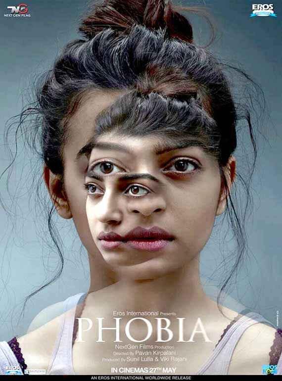 Phobia Radhika Apte Horror Poster