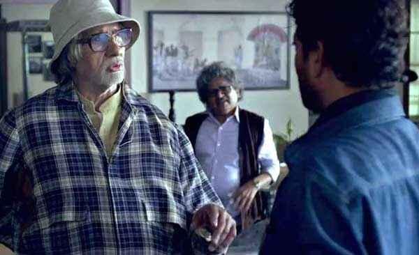 Piku Amitabh Bachchan Irfan Khan Stills