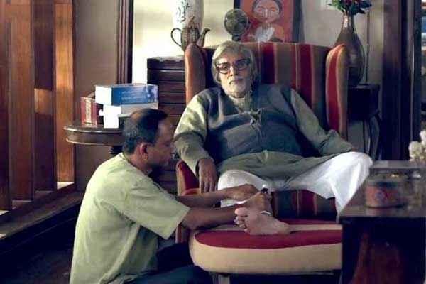 Piku Amitabh Bachchan Taking Rest Stills