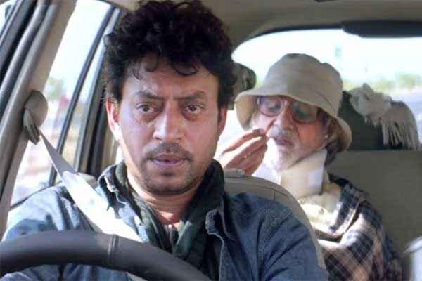 Piku Irfan Khan Amitabh Bachchan in Car Stills