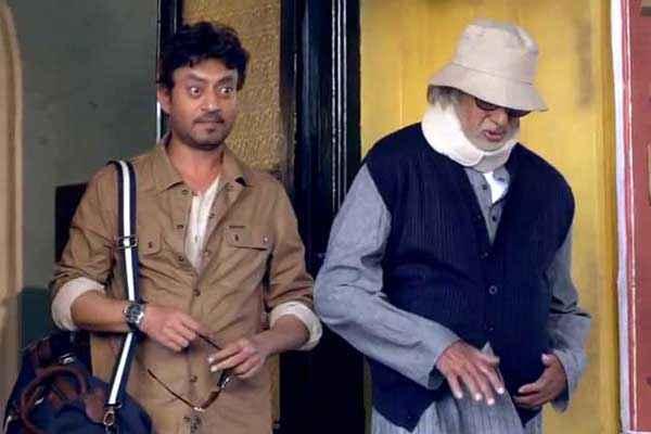 Piku Irfan Khan Amitabh Bachchan Pics Stills
