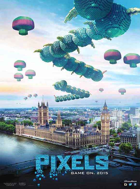 Pixels First Look Poster