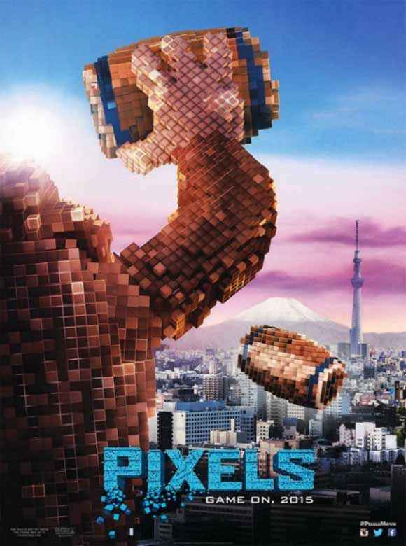 Pixels HD Wallpaper Poster