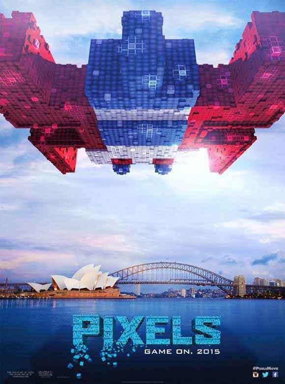 Pixels Image Poster