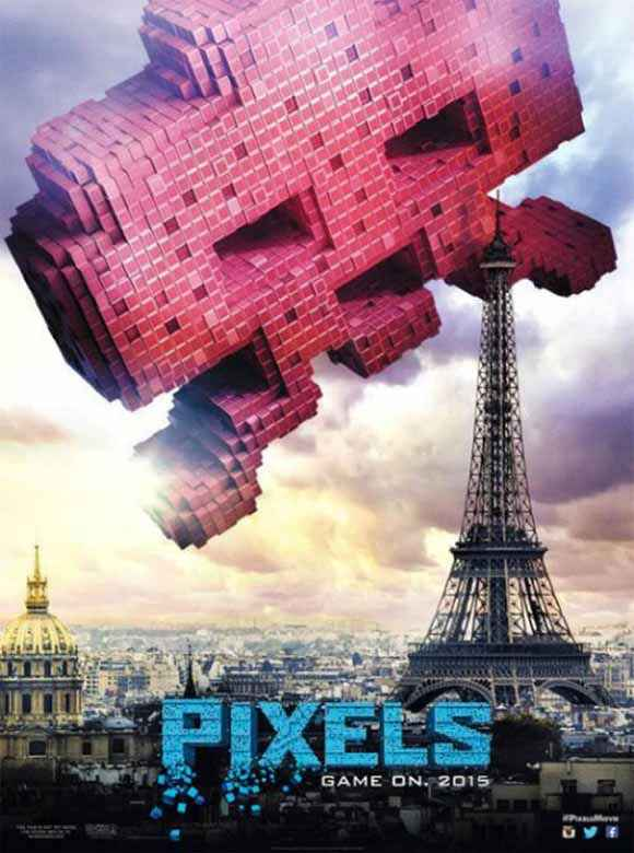 Pixels Wallpaper Poster