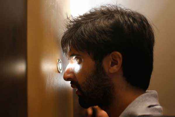 Pizza Akshay Oberoi Looking In Door Stills