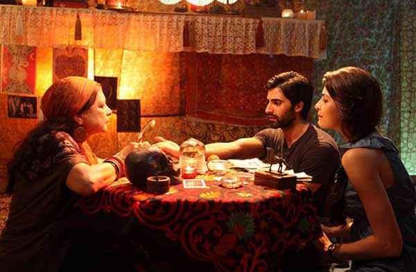Pizza Dipannita Sharma Akshay Oberoi Dinner Scene Stills