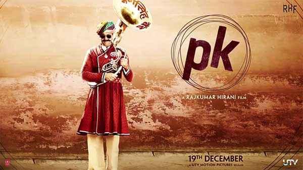 PK (PeeKay) Sanjay Dutt Poster