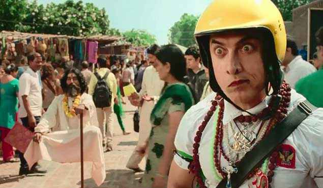 PK (PeeKay) Aamir Khan Acting Stills
