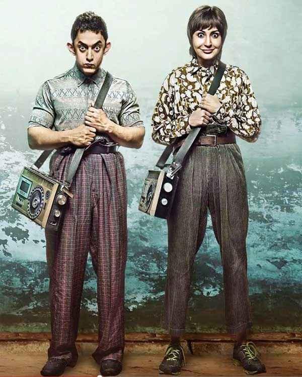 PK (PeeKay) Aamir Khan Anushka Sharma First Look Stills