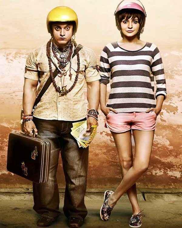 PK (PeeKay) Aamir Khan Anushka Sharma HD Wallpaper Stills