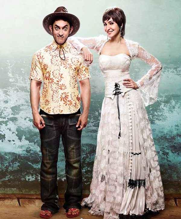 PK (PeeKay) Aamir Khan Anushka Sharma Wallpaper Stills