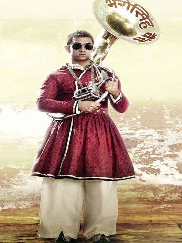 PK (PeeKay) Aamir Khan Band Baja Picture Stills