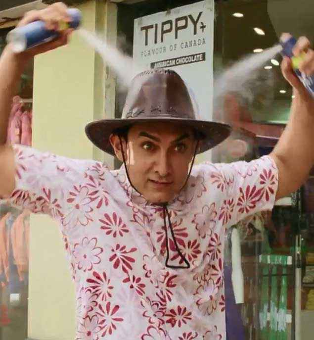 PK (PeeKay) Aamir Khan Cap Stills