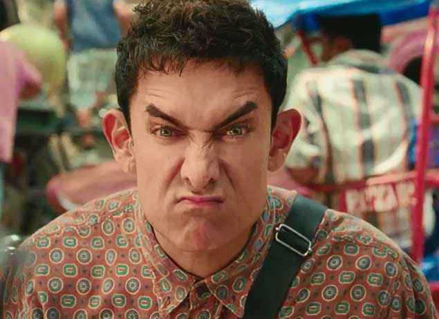 PK (PeeKay) Aamir Khan Comedy Wallpaper Stills